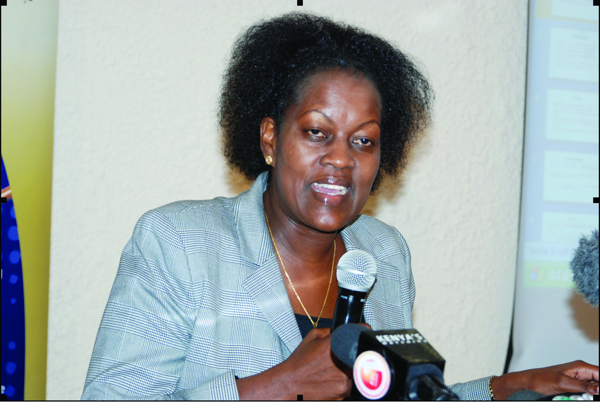 Lawyer Judy Thongori.