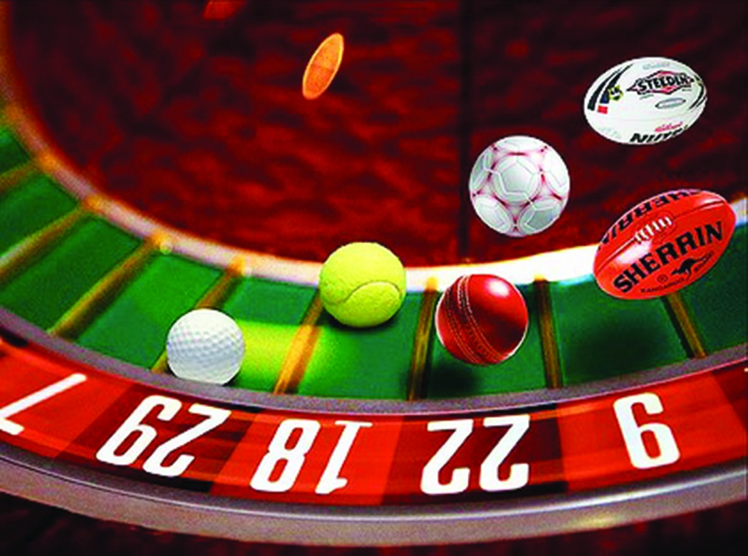 Banning gambling on sports events casino black jack poker
