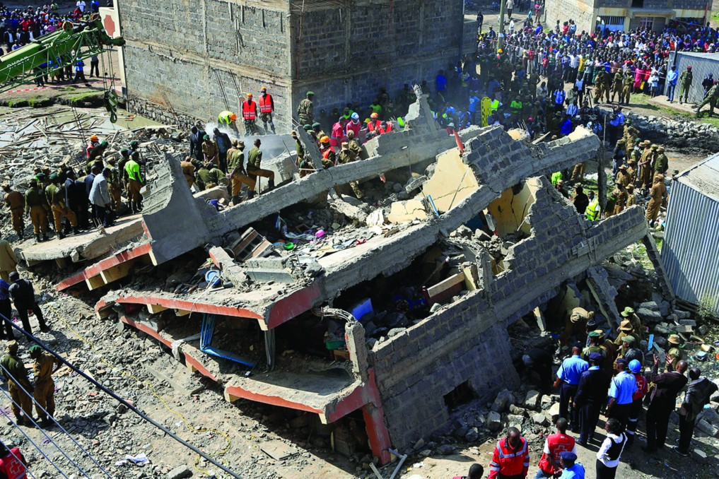 Huruma disaster and the enforcement of engineering ethics