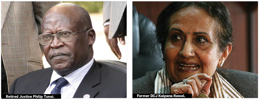 Legal perspectives of ruling supreme court judges in Rawal, Tunoi ruling