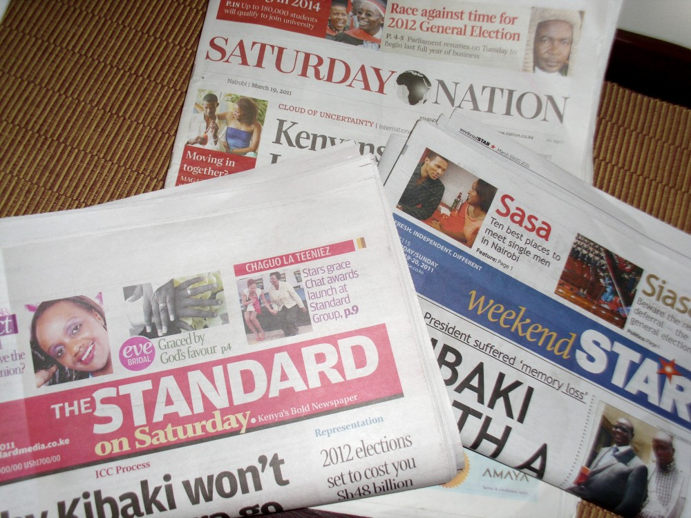Media is affording our  politics undue relevance