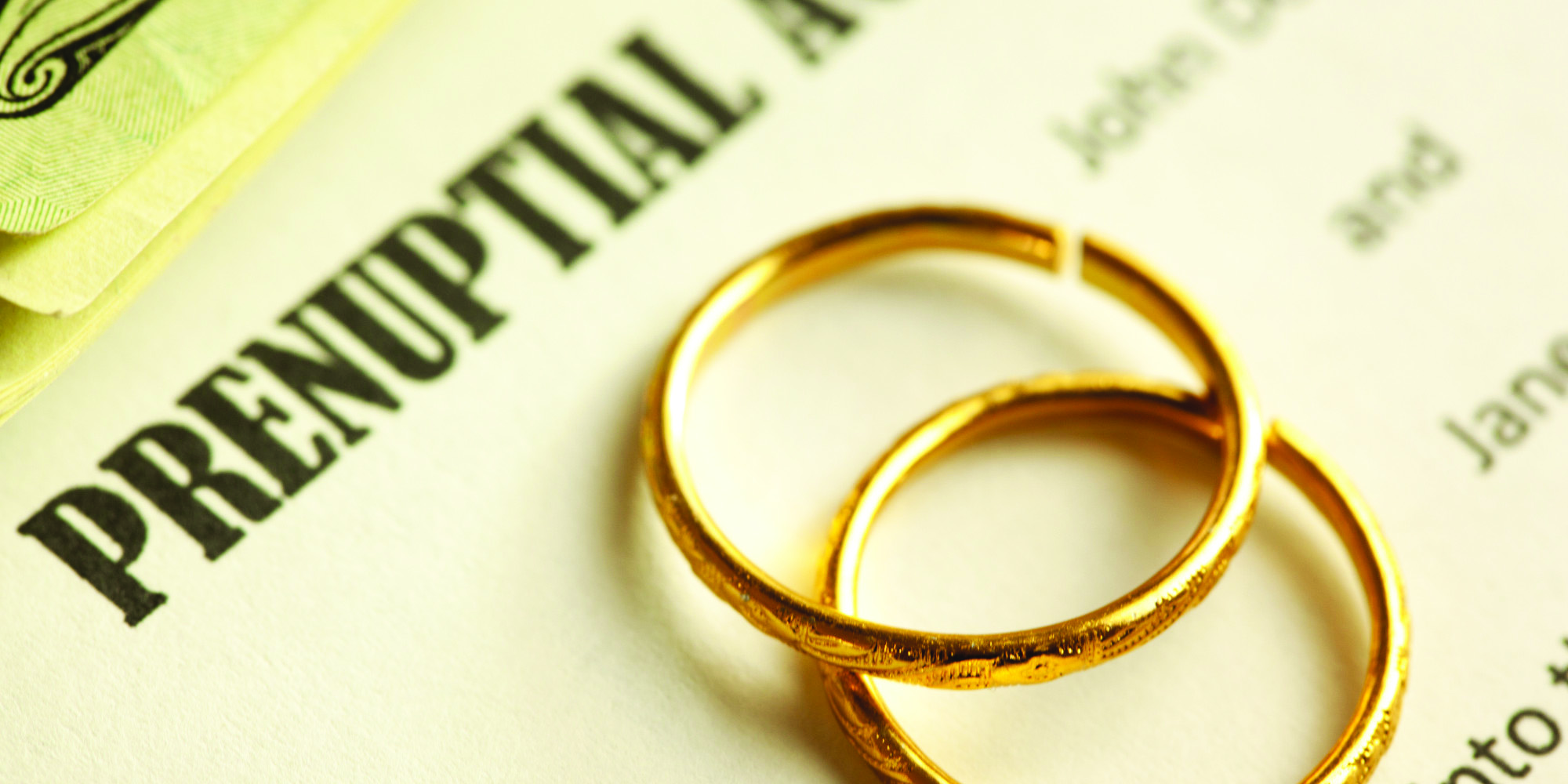 Matrimonial property: In support of prenuptial agreements