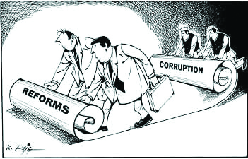 An institutional proposal to aid the fight on corruption