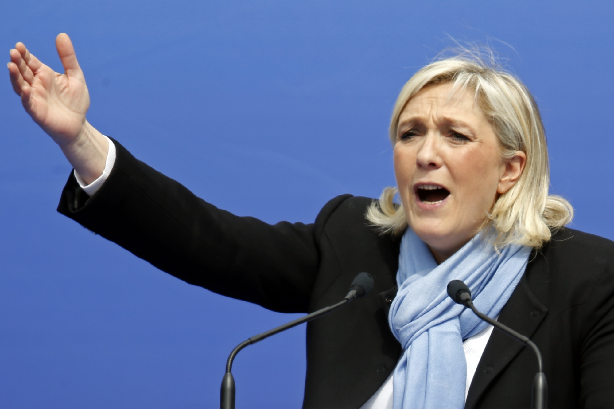 Marine Le Pen wants France to cut ties with most of the world—except Africa