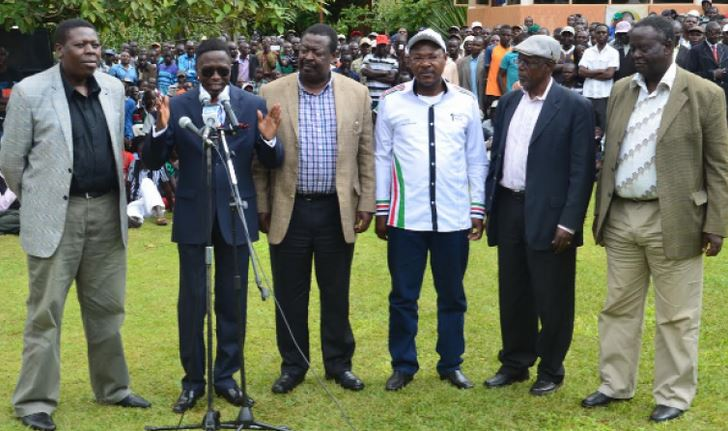 The curse of political leadership in the 'Luhya Nation'