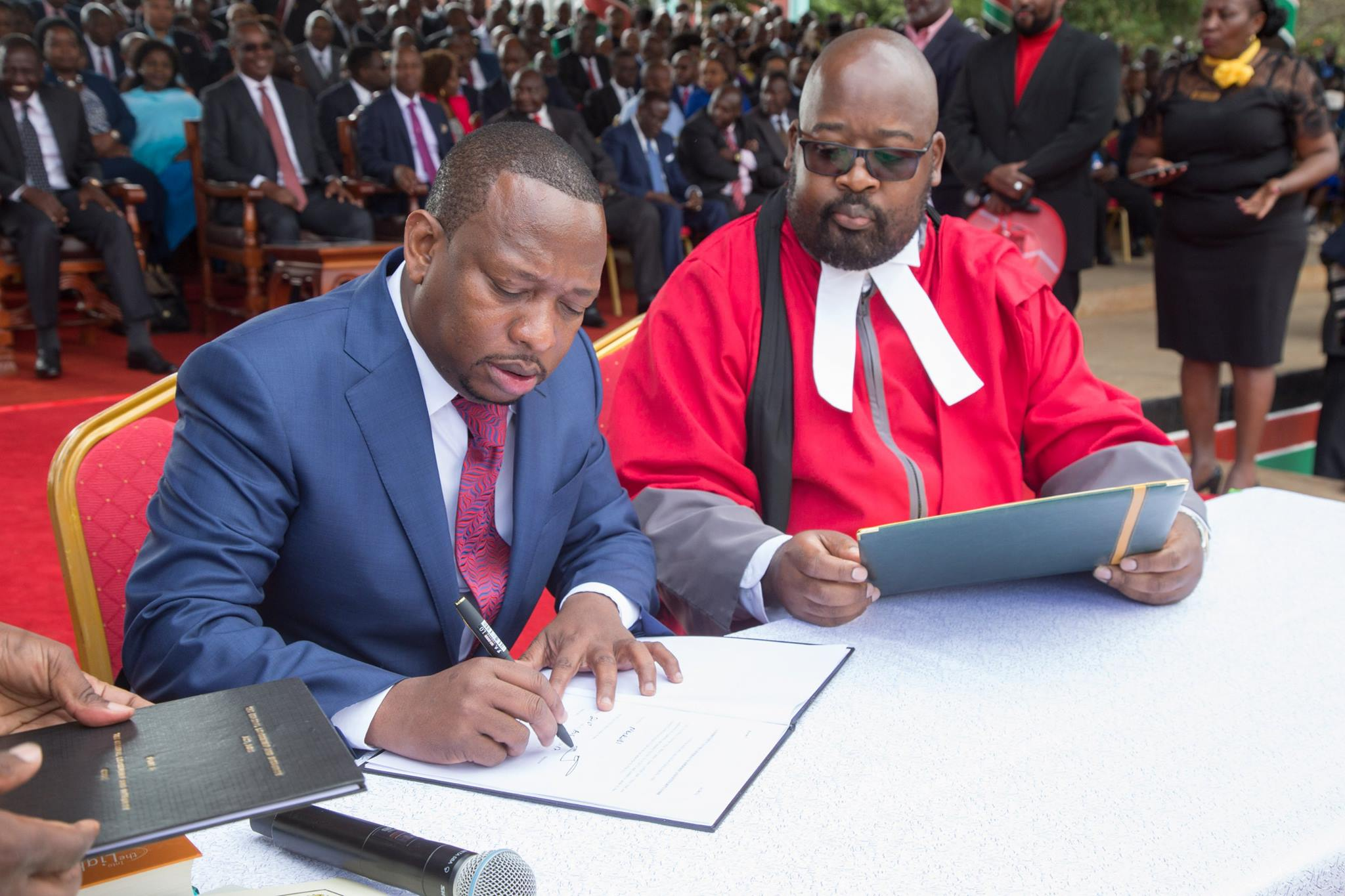 Sonko really is governor… Brace for impact!