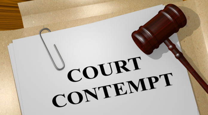 'Dignity of the court' vs. freedom of expression