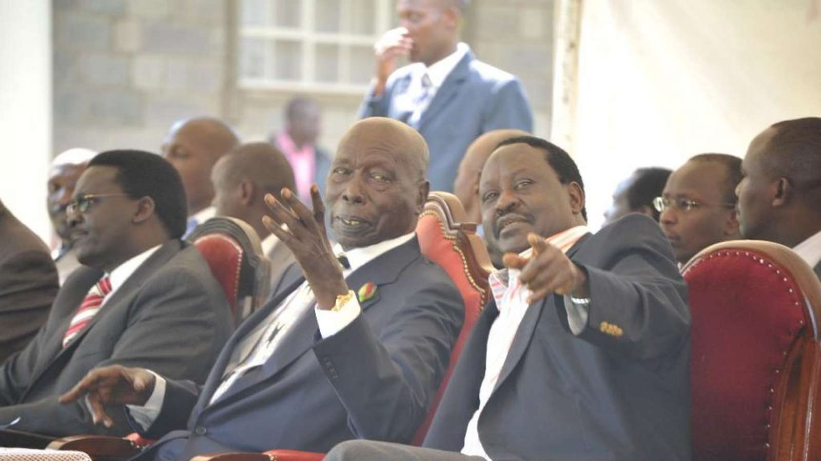 Raila,  the political litmus