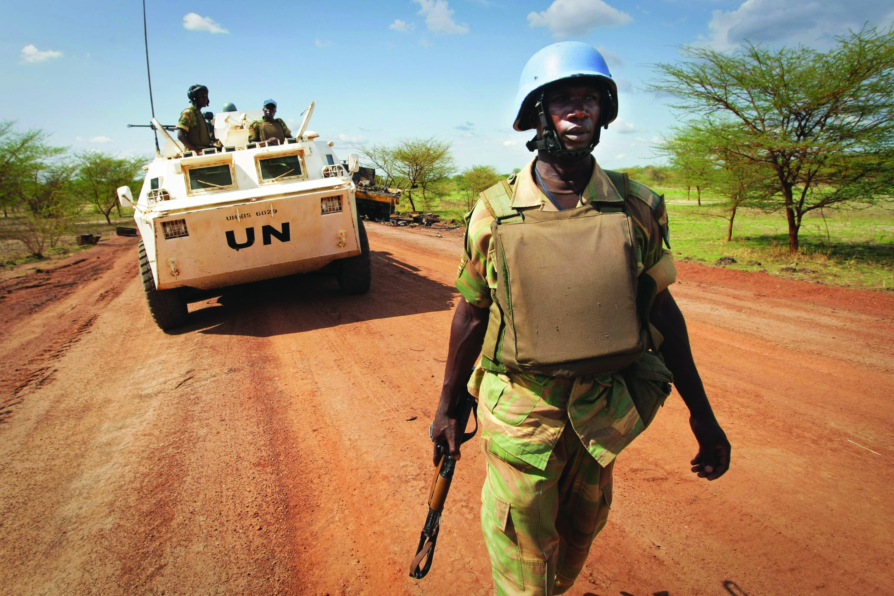 Key to stabilising Africa's future is financing its own security agenda