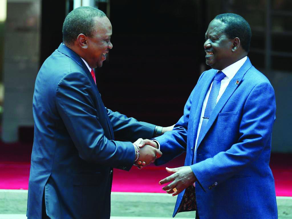 Shaking the handshake