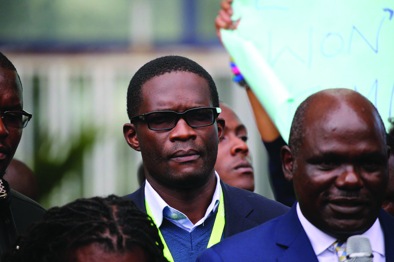 Chiloba 'another casualty of the handshake'