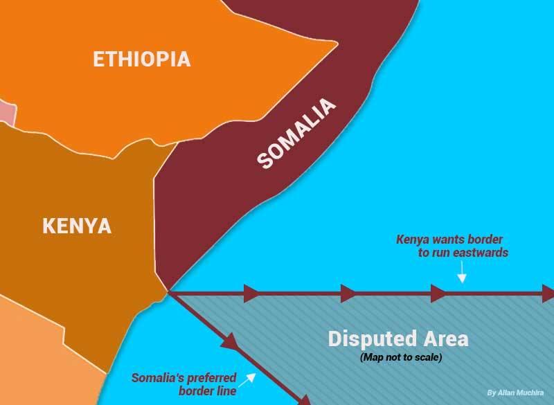 Kenya's demands to Somalia in maritime dispute are justified