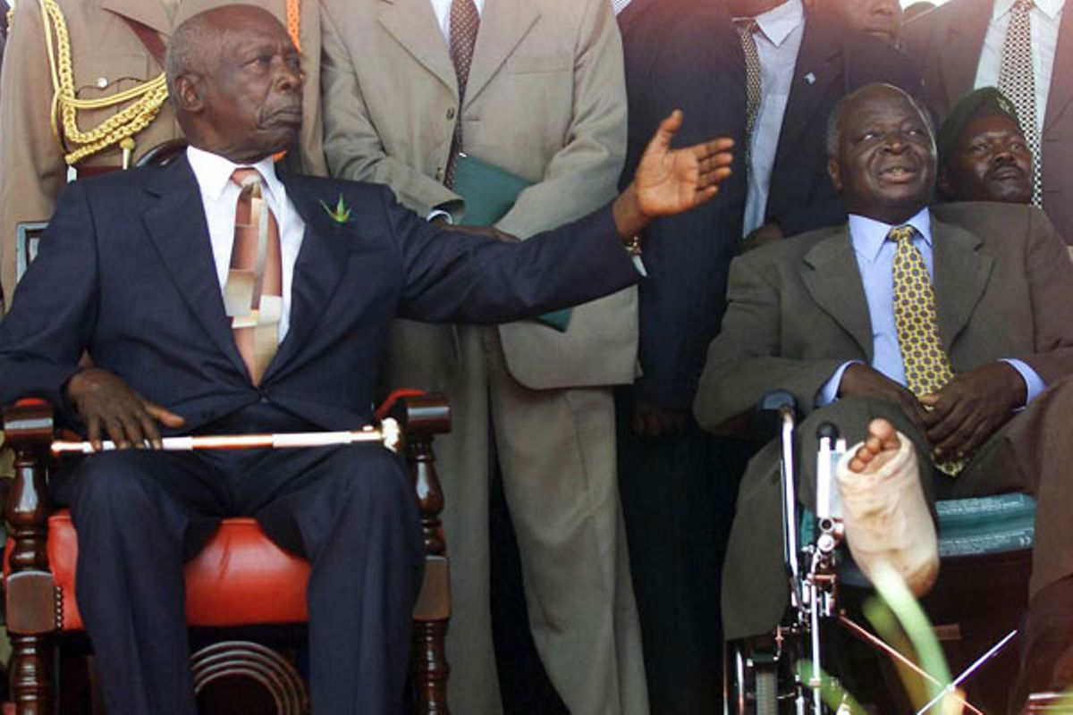 HOW MOI'S SUCCESSORS TURNED HIM INTO A 'SAINT'