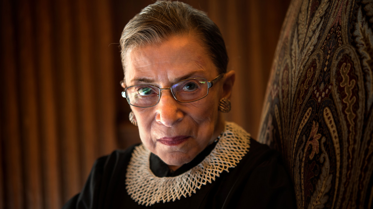 "SCOTUS justice R.B Ginsburg demonstrates the Zen principle ""beginner's mind"""