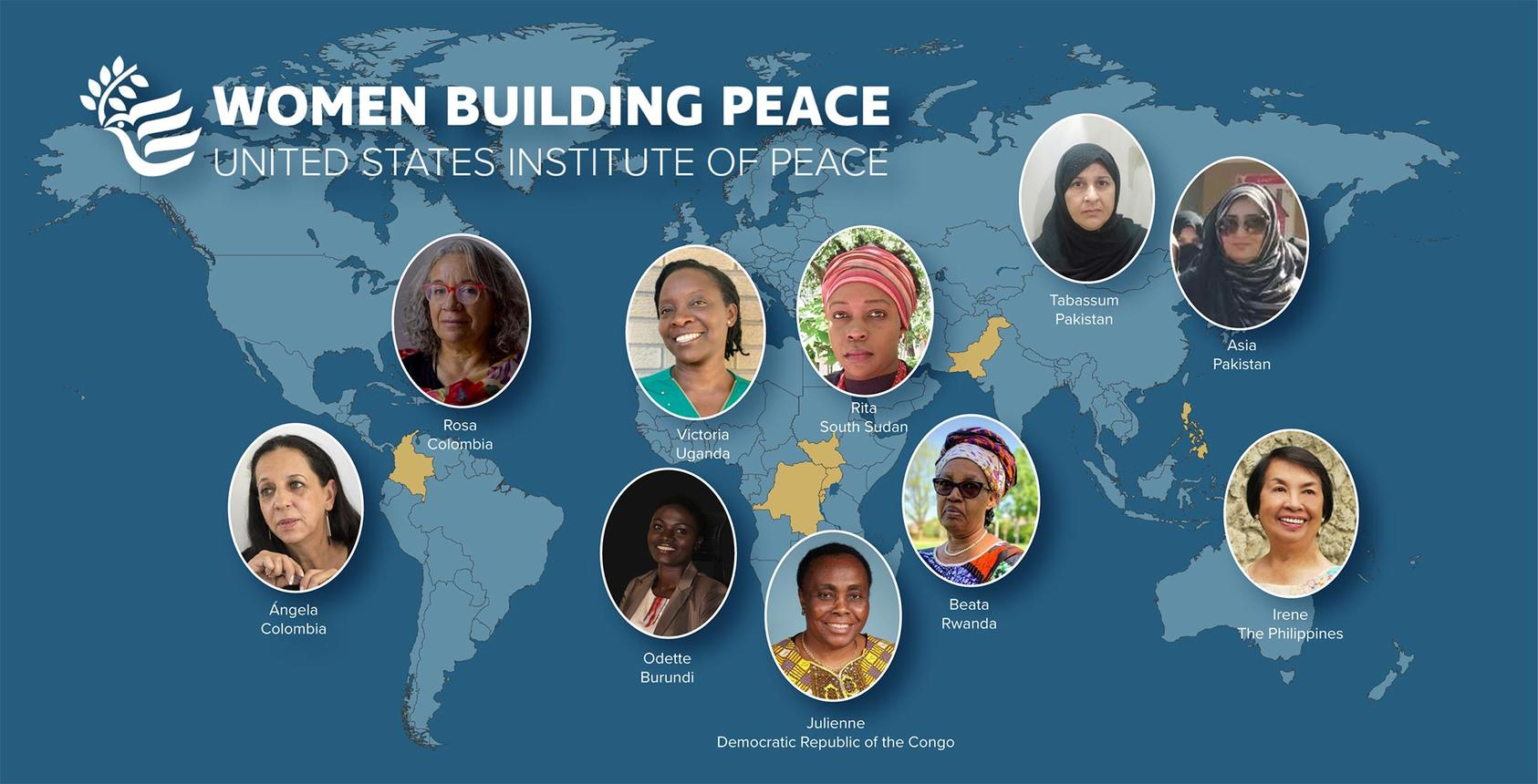 US Institute of Peace announces finalists for inaugural Women Building Peace Award