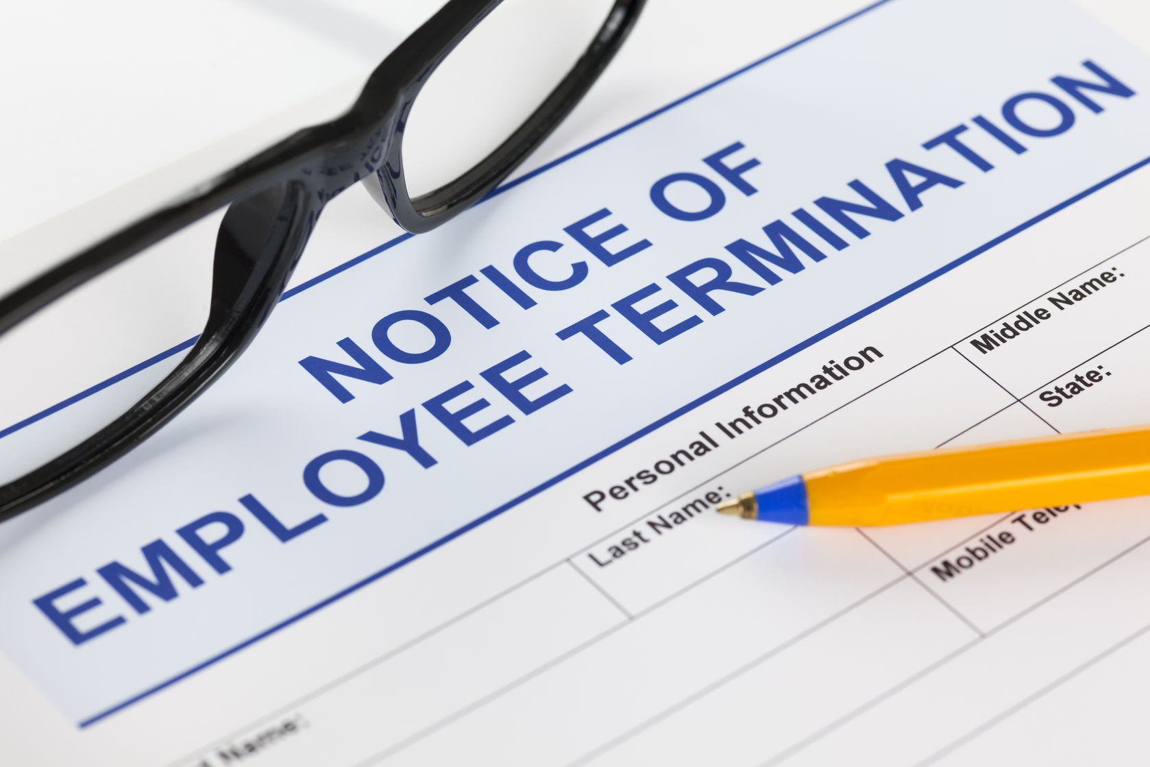 Termination notice clauses: getting it wrong