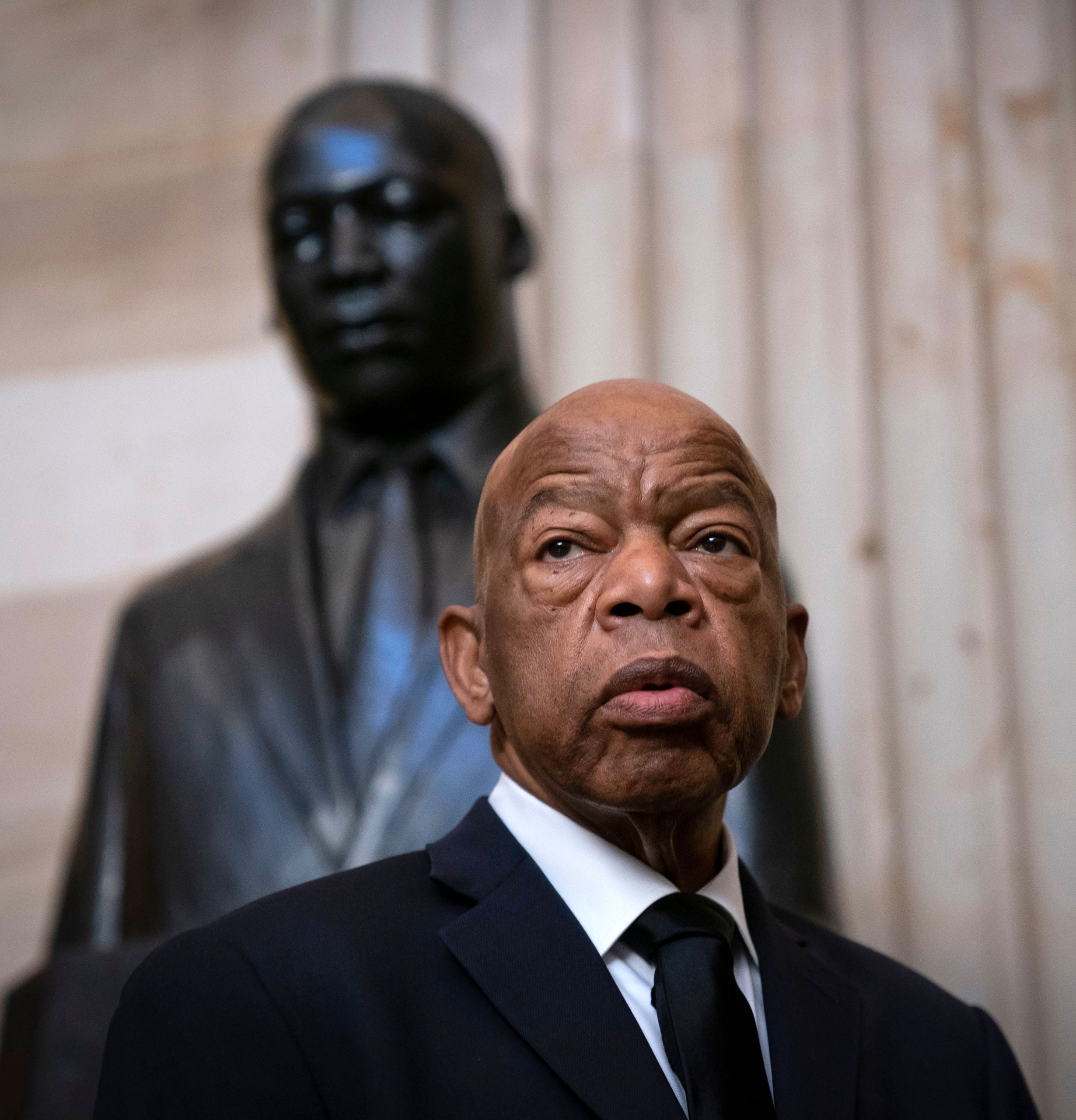 """Five things John Lewis taught us about getting in """"good trouble"""""""