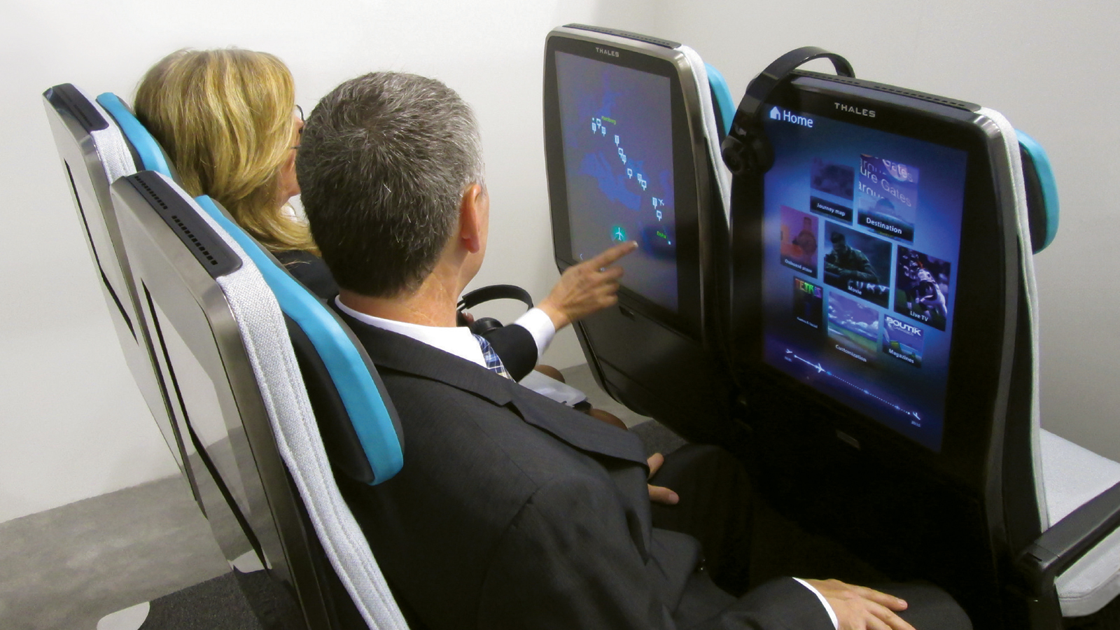 Smart devices: the future passenger inflight control centre