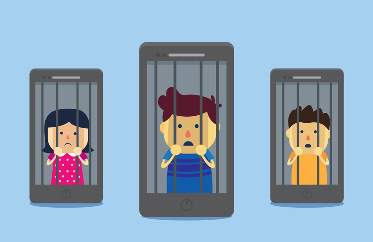 The social media dilemma: prisoners to our virtual world