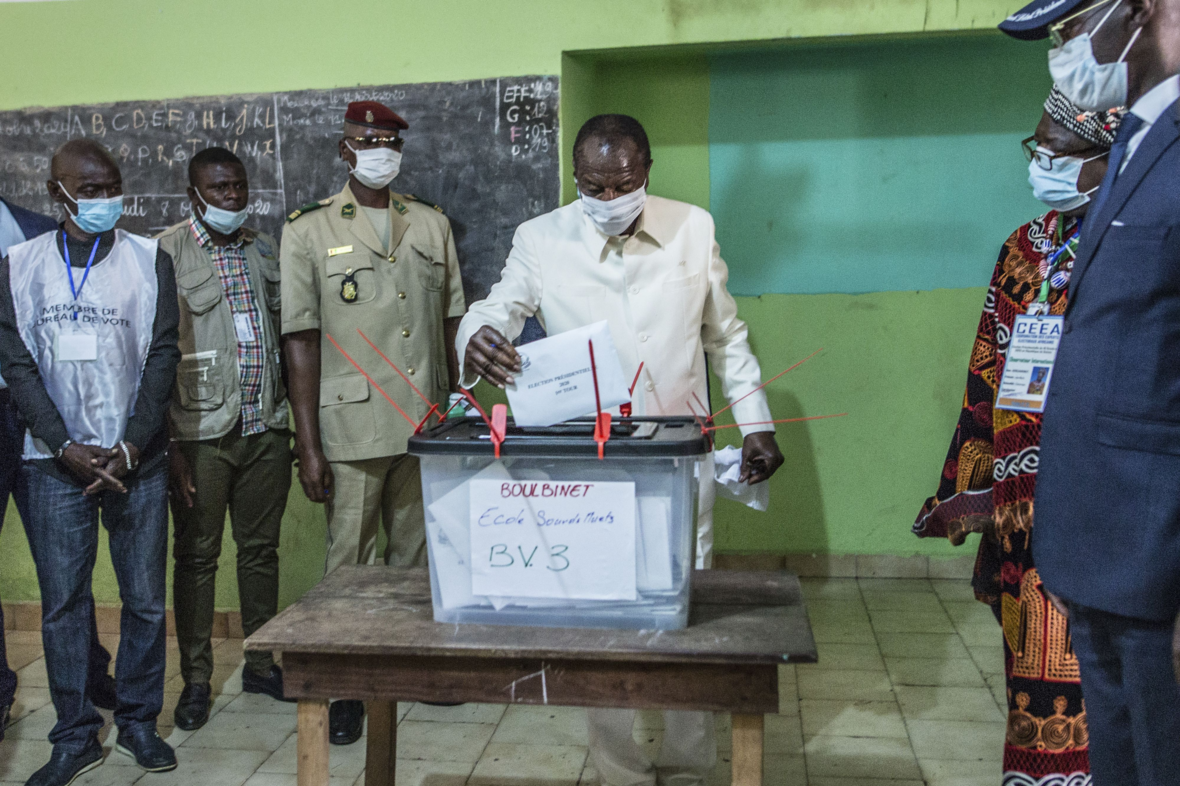 String of tense elections tests Africa's democracies