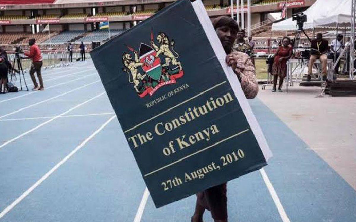 Ethical citizens will change Kenya not the constitution