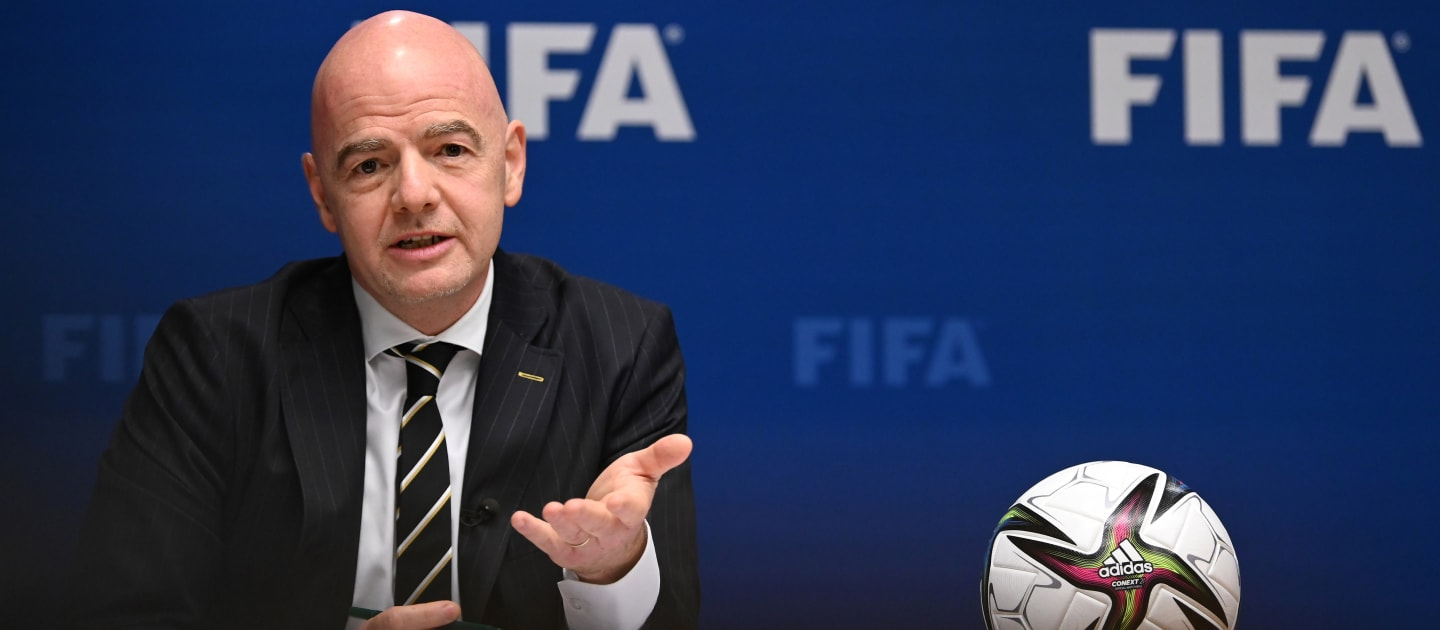 FIFA President discusses threats to football at UN crime and justice congress