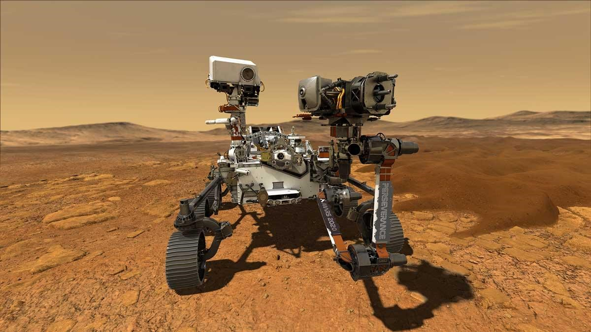 Perseverance: the rover with a mission on Mars