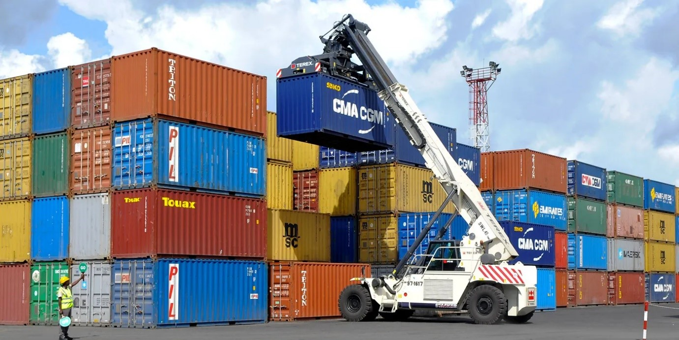 Trading volume with China down as shipping costs rise