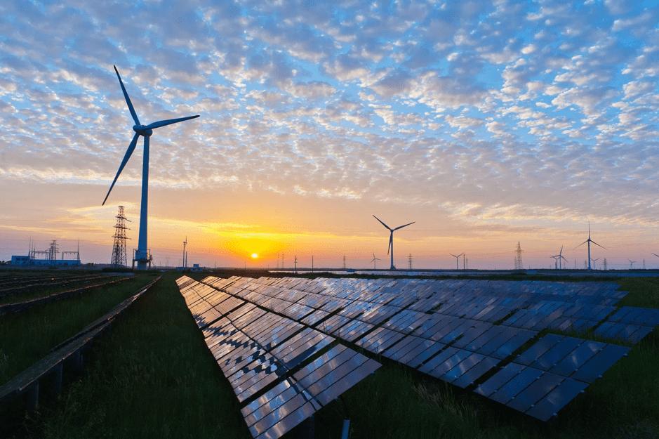 Renewable energy post slow growth rate globally