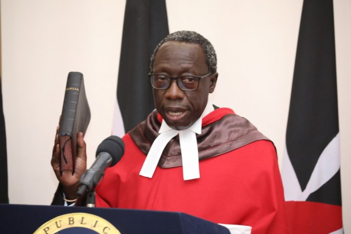 The Honourable Justice William Ouko: A Lifelong Commitment